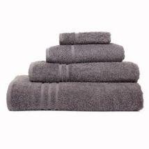 BC Softwear Comfy Hand Towel (Vat Dyed), Black