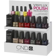 CND Vinylux Small White Retail Rack
