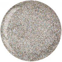 Cuccio Powder Polish Dip, Silver with Rainbow Mica 1.6oz
