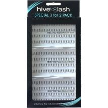 Hive Individual Flare Lashes 3 for 2 Pack, Black Small
