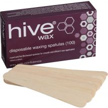 Hive Disposable Waxing Spatulas (100)
