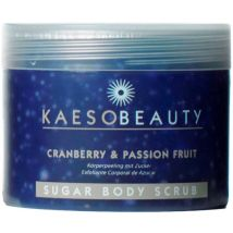 Kaeso Sugar Body Scrub, Cranberry & Passion Fruit 450ml