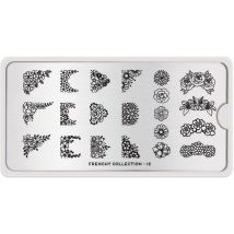 MoYou London Professional Stamping Plate, Frenchy 12, Universal