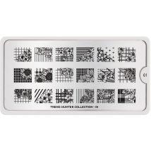 MoYou London Professional Stamping Plate, Trend Hunter 01, Regular
