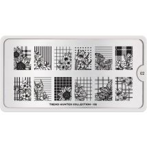 MoYou London Professional Stamping Plate, Trend Hunter 02, XL