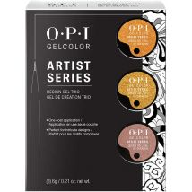 OPI GelColor Artist Series Trial Kit, Metallic 2 Colors