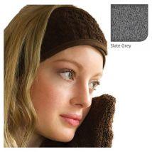 BC Softwear Serenity Waffle Towelling Headband, White