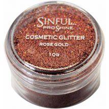 Sinful Proshine Glitter, Rose Gold 10g