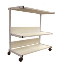 SkinMate Trio Long Trolley, 780mm