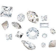 Preciosa Crystals 3D Mix, Clear (100)