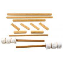 Vulsini Bamboo Cane Set, 12 Piece