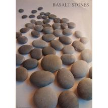 Hot Stone Basalt Poster, A3