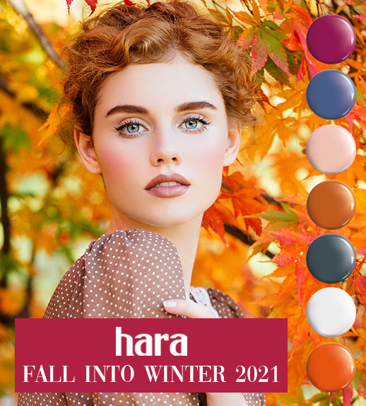 Hara Gel Polish Fall into Winter Collection